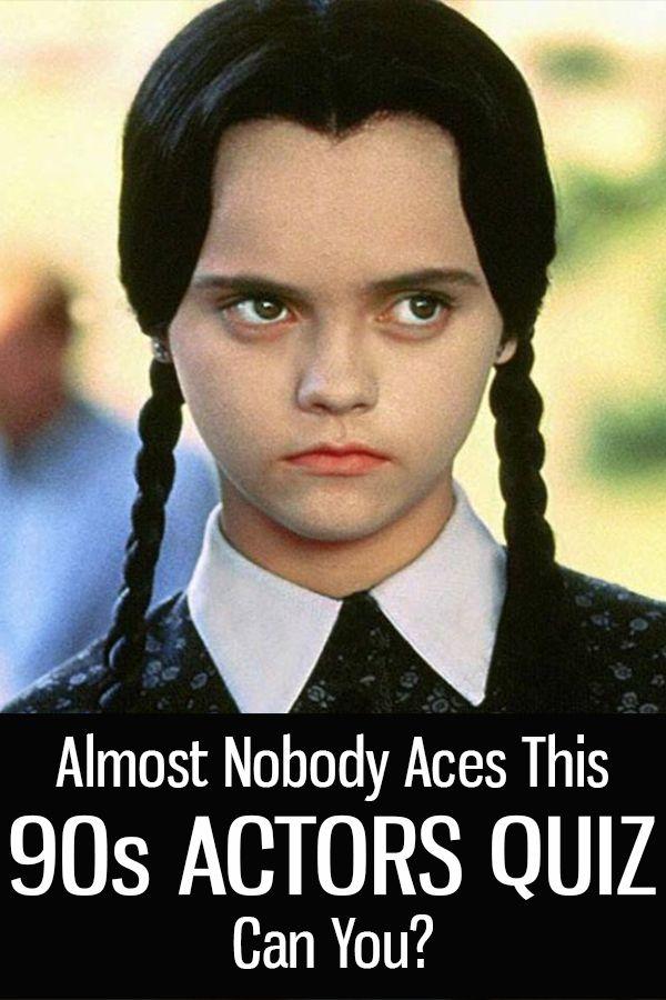 Bet You Can T Ace This 90s Actors Quiz 90s Actors Movie Quotes Funny Actors