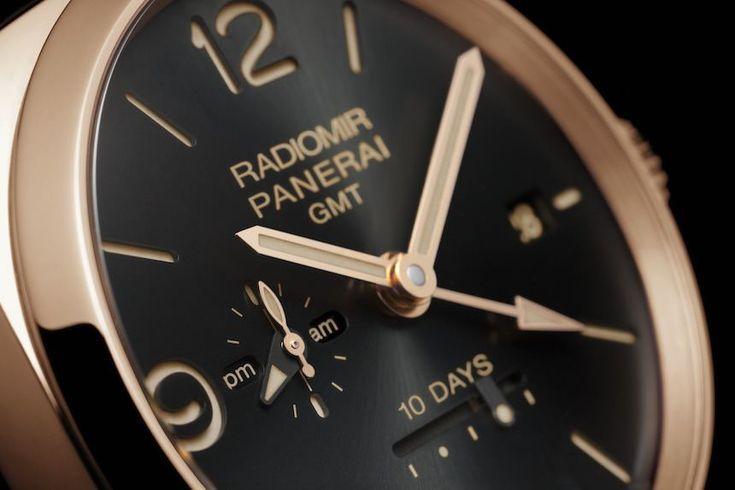 Panerai Radiomir 1940 10 Days GMT Automatic Oro Rosso Watch
