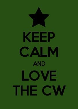 KEEP CALM AND LOVE The Cw