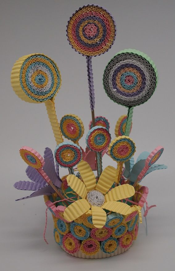 Pastel Color Centerpiece with Kokoru Ichiro - color corrugated.