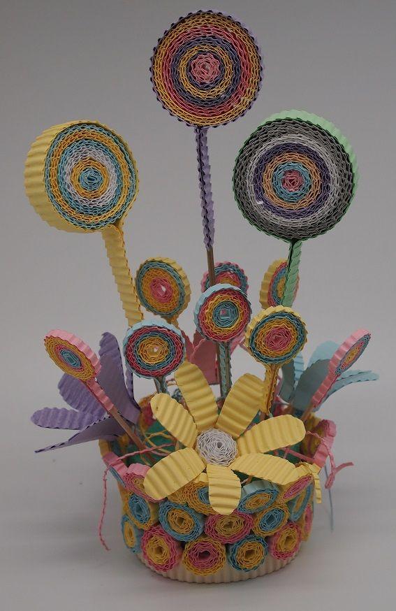 Pastel Color Centerpiece with Kokoru Ichiro - color corrugated.