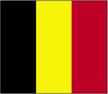 Country Flags: Belgium Flag