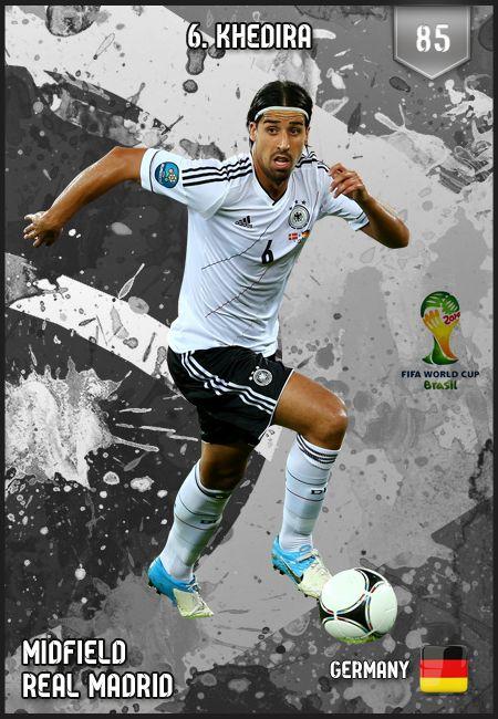 #SamiKhedira Germany FIFA World Cup 2014 Lineup