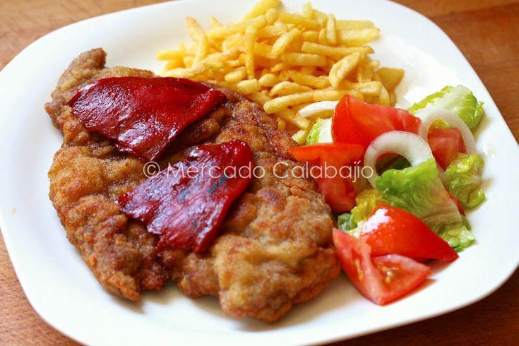 CACHOPO ASTURIANO Ternera (babilla o tapilla..) queso en lonchas, jamón serrano y a empanar