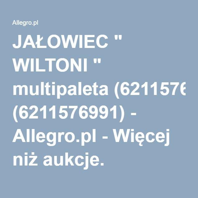 """JAŁOWIEC """" WILTONI """" multipaleta (6211576991) - Allegro.pl - Więcej niż aukcje."""