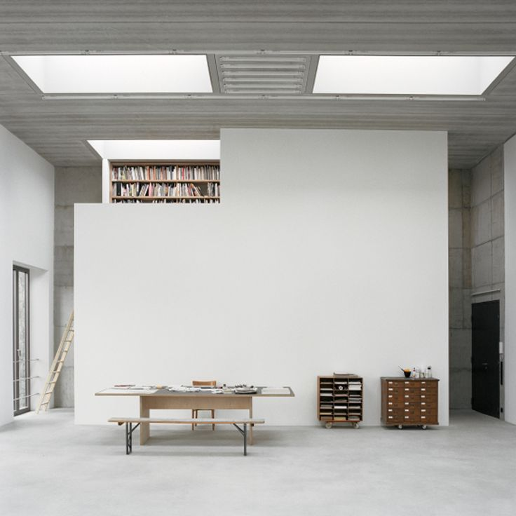 "spenserstevens: "" Berlin practice Sauerbruch Hutton has renovated and extended a former Prussian military uniform factory to accommodate its own offices and an artist's studio. """