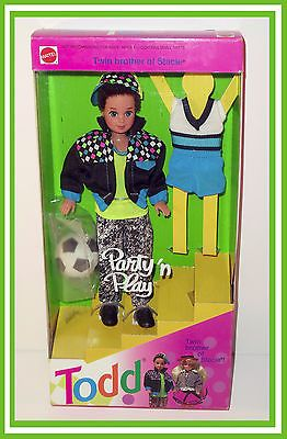 1992 Todd Party and Play Doll (Barbie, Ken, Skipper, Stacie, Kelly Doll)