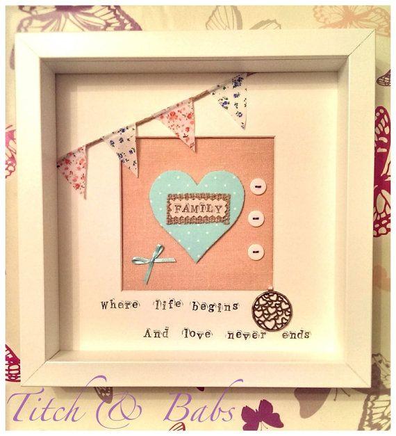 Family Heart Frame.