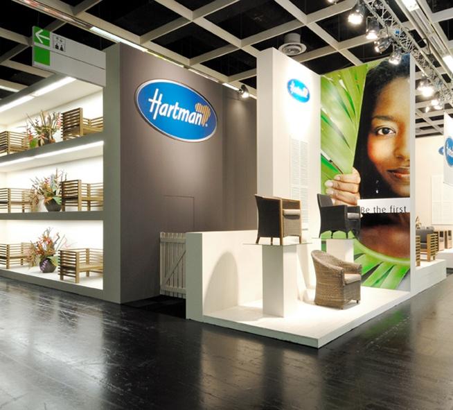 exhibith booth Hartman on spoga voor http://artica.nl/