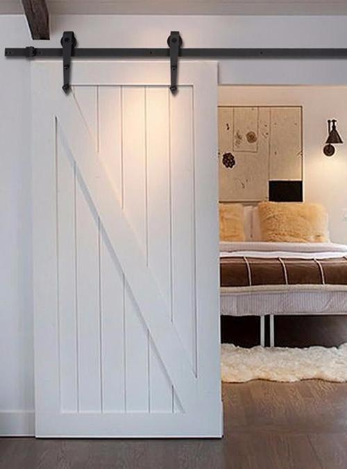 Porta scorrevole Barn Doors White 90x210 disponibile anche su misura sul nostro sito www.xlab.design