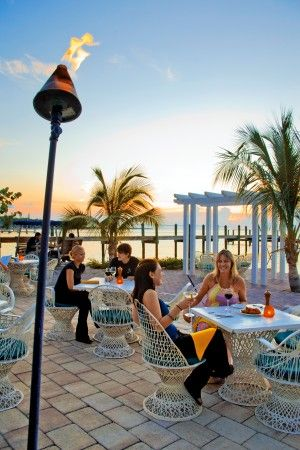 Marker 88, Islamorada, Florida Keys - Great waterfront dining with a spectacular view - plenty of fresh local seafood and a great tiki bar with nightly entertainment