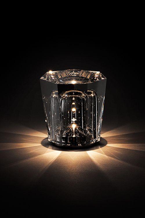 Xtal | AMBIENTEC + RYU KOZEKI 2015 CORDLESS LED LAMP COLLECTION Milan Design Week 2015 http://www.ambientec.co.jp/xtal/