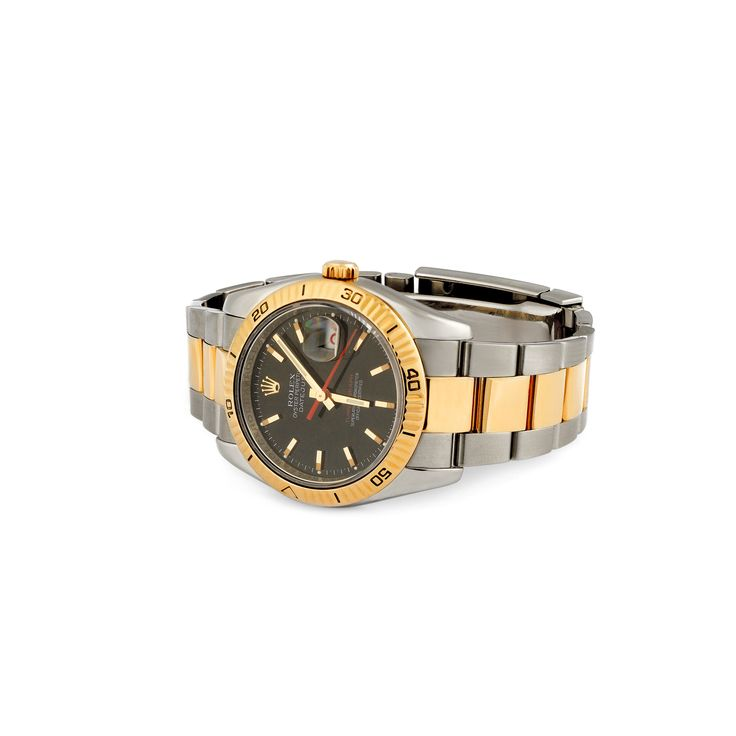 Rolex DateJust Turn-O-Graph Steel & Yellow Gold