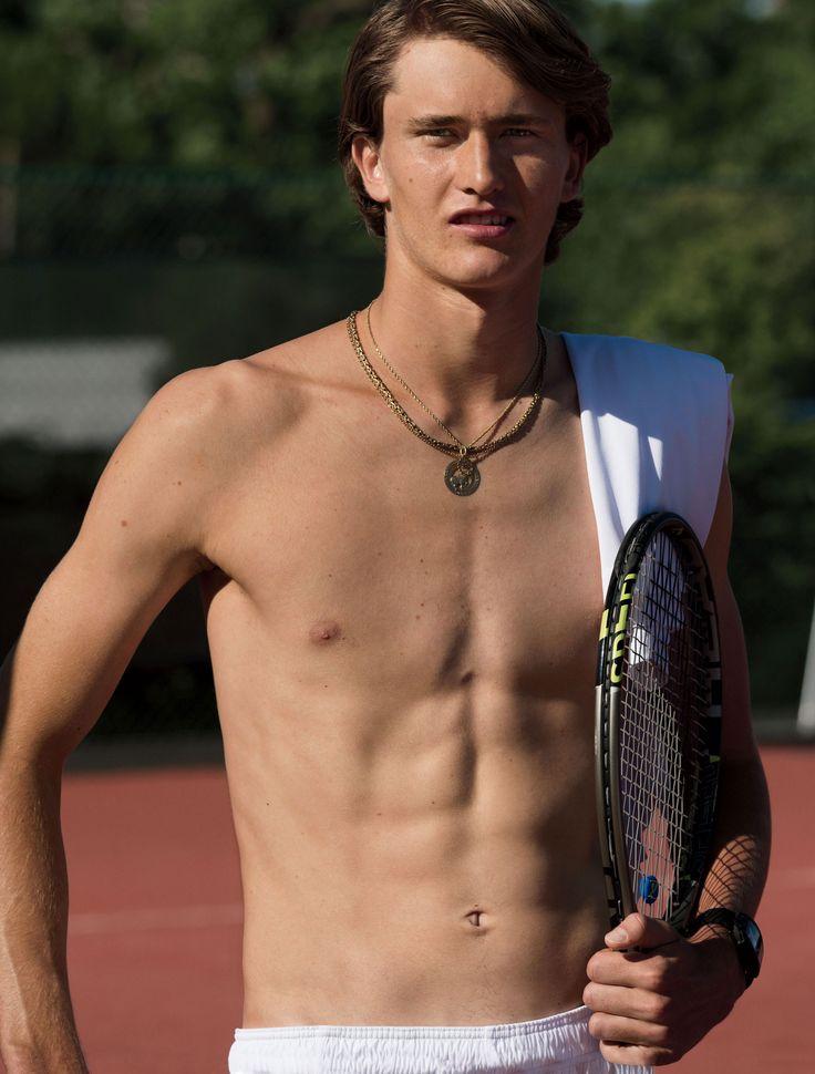 German Wunderkind Alexander Zverev on the U.S. Open and the Future of Tennis
