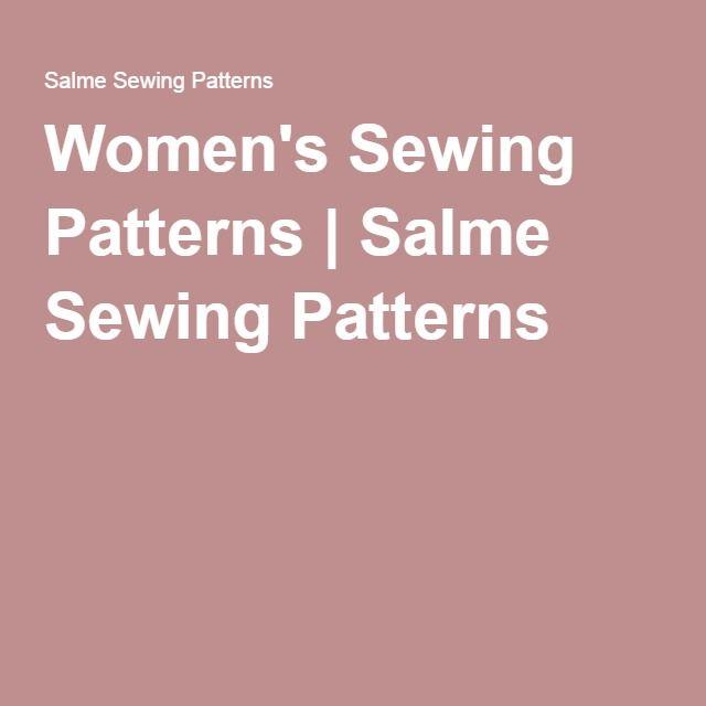 Salme Sewing Patterns