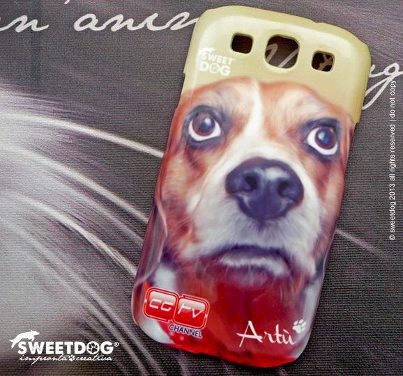 """DOG: Artù (Beagle) Personalized Samsung S3 cover La mascot de """"L'Italia di Artù"""" http://www.caniegattitvchannel.tv/index.php/litalia-di-artu/"""