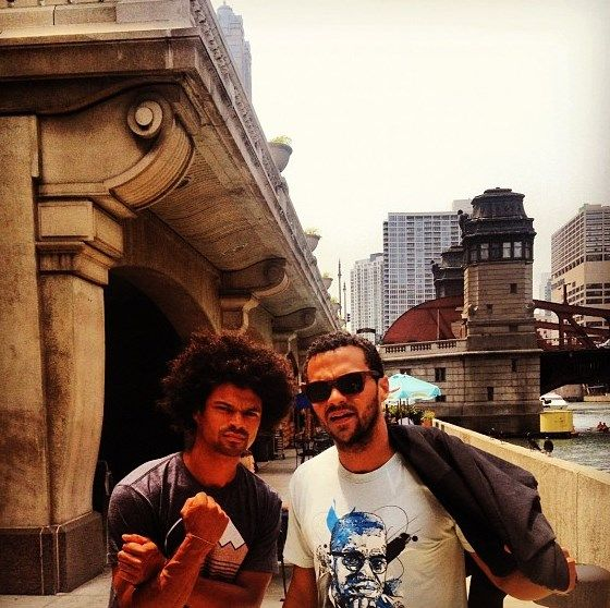 Jesse Williams w/ brother Coire | Jesse Williams ...
