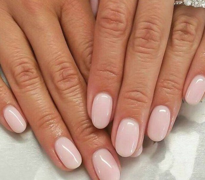 French Manicure Manicure Manicure Instructions Manicure Frenchnails Anleit French Manicure Mani In 2020 Pink Nails Oval Nails Natural Nails