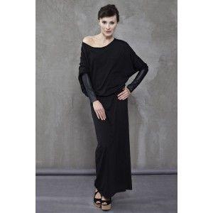 In.na - czarna sukienka