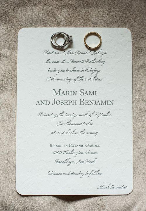 A Formal Fall Wedding at Brooklyn's Botanic Garden