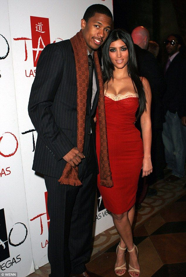 Kim Kardashian 2006 | were: Nick Cannon and Kim Kardashian celebrate her birthday in 2006 ...