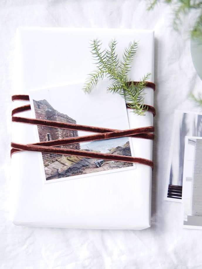 Scandinavian gift wrapping idea