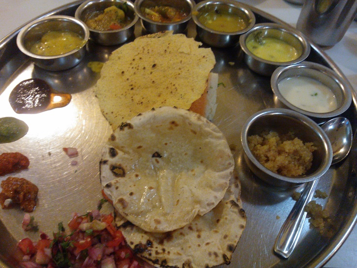 All you can eat Gujrati thali