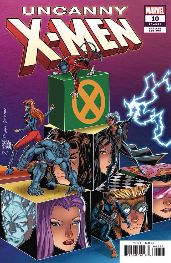 Uncanny X Men Vol 5 10 Variant Cover Art By Ron Lim Israel Silva X Men Comics Marvel