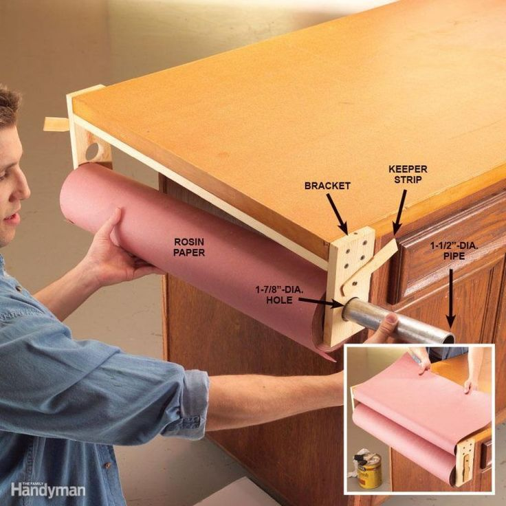 Rosin Paper Workbench Cover #woodworkingbench
