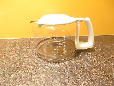#Replacement: #krups dual 10 cup coffee maker model #264a #carafe w/ white lid,  View more on the LINK: 	http://www.zeppy.io/product/gb/2/322397553479/