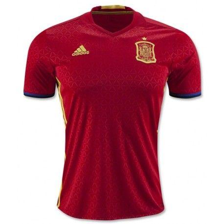 Maillot Espagne Euro 2016 Domicile