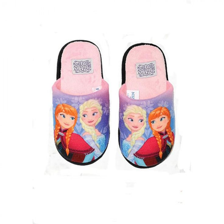 Παιδικές Παντόφλες Frozen-Ροζ
