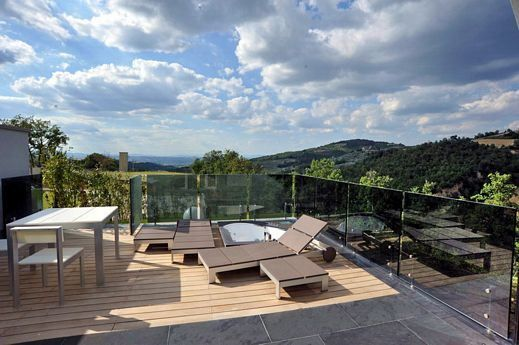 Crystal House in Umbria