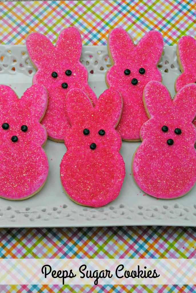 103 best easter gift ideas crafts etc images on pinterest this easter delight your children and other family members with these peeps sugar cookies negle Gallery