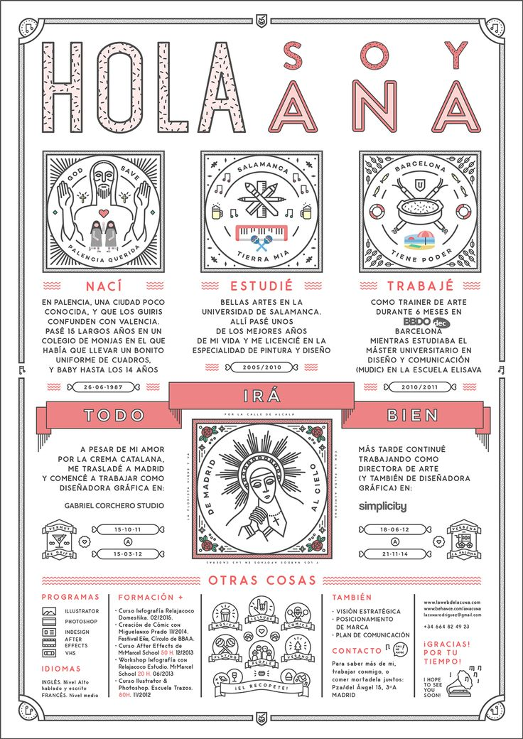 Curriculum Ana Cuna on Behance