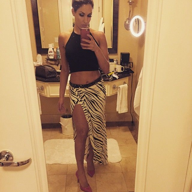 501 best the bella twins wwe images on pinterest the Nikki bella fashion style