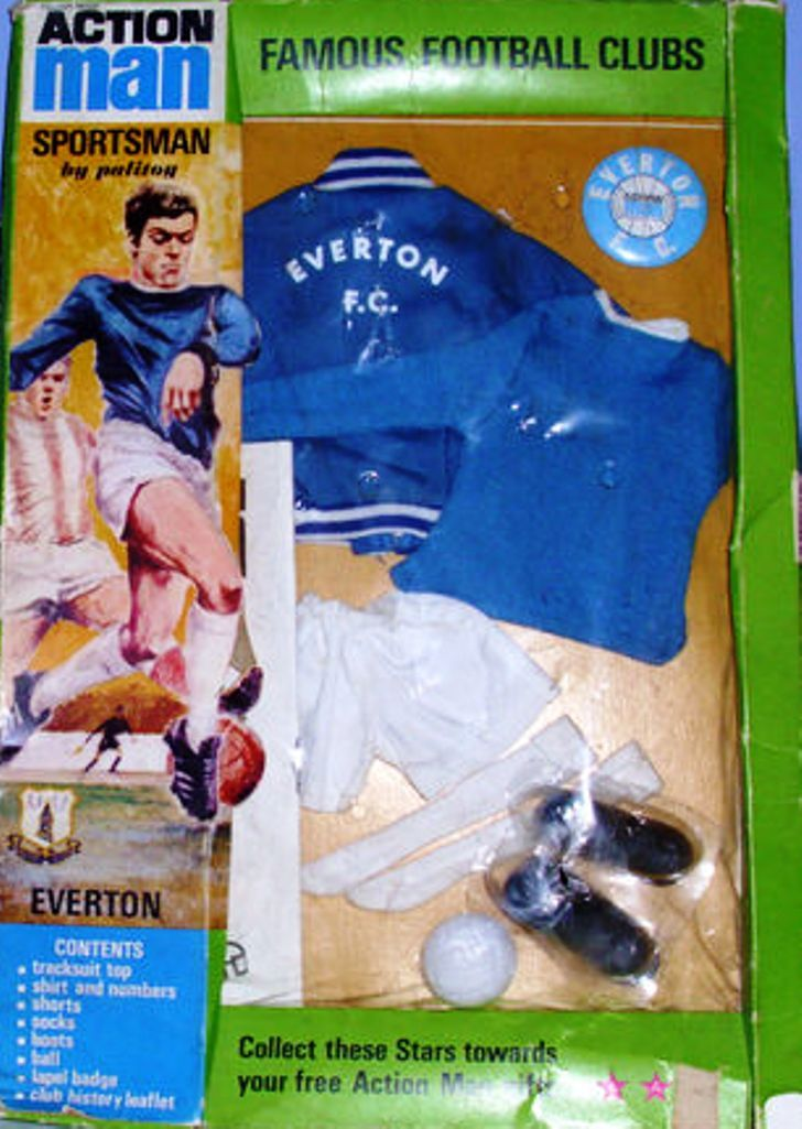 Action man, Everton