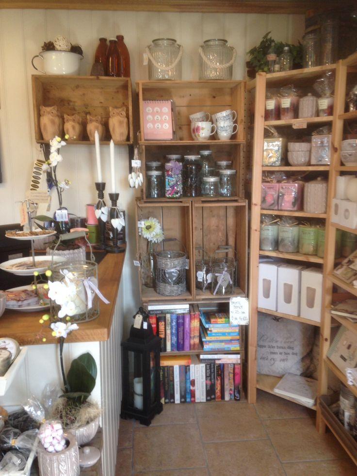 Inside our little farmstore