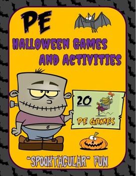 pe halloween games and activities spooktacular fun - Halloween Games For Groups