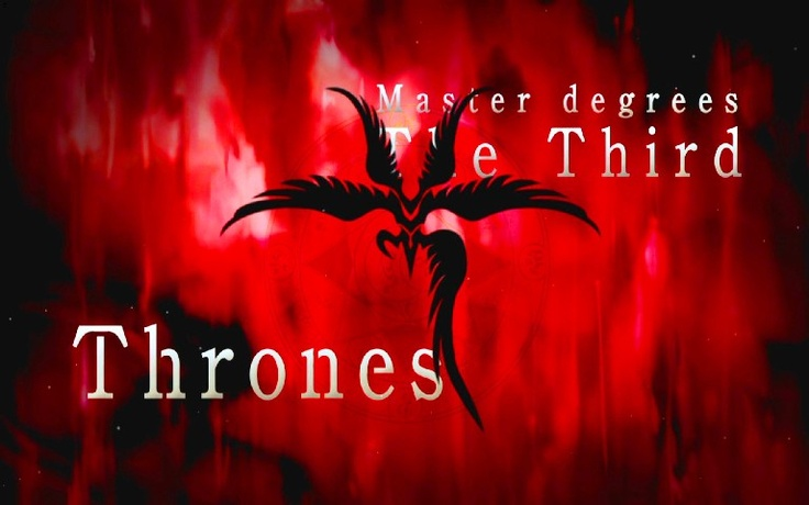 3.上位三階:座天使(Thrones/Throni)