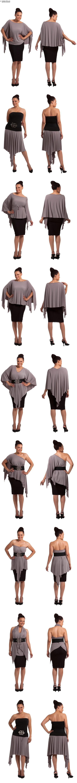 Is it a poncho? Is it a skirt? Is it a top? Find the PONCHO SKIRT at Sass Designs.