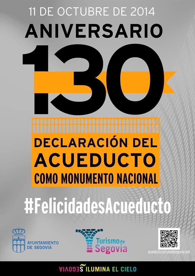130 años de declaración monumento nacional del Acueducto