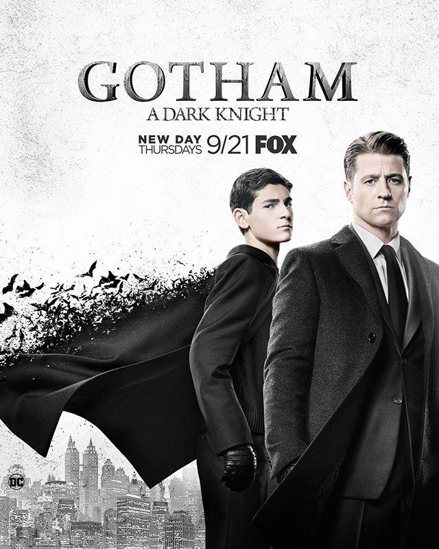 A Dark Knight is coming...  #Gotham returns on a new night, Thursday, September 21 at 8/7c!gothamonfox