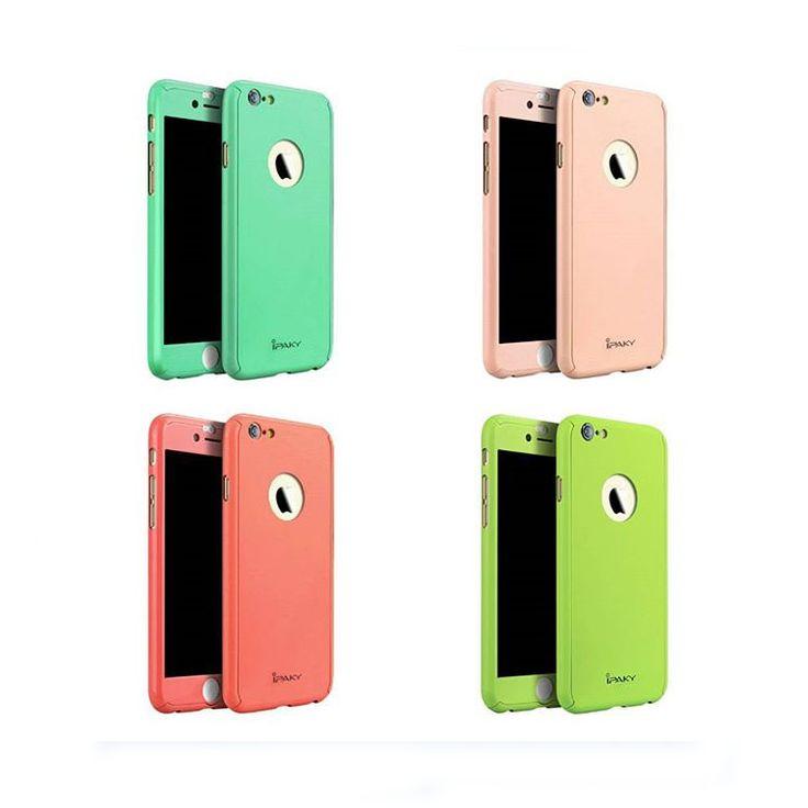 #iPaky 360°-os TPU tokok (iPaky 360 degree macaron colors #iPhone 6 #case)