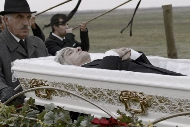 You can't refuse anything to a dead man? Best funeral services Commercial ad! www.memoris.ro/pompe-funebre