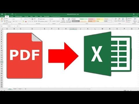 Convertir Pdf A Excel 100 Gratis Sin Programas 2019 Youtube Informatica Y Computacion Hoja De Calculo Excel Hojas De Cálculo