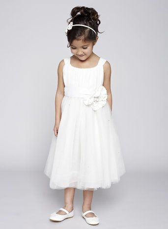 Lola Ivory Flower Girl Dress