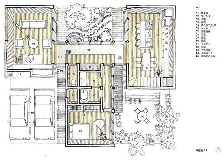 渡殿のある家|愛知・名古屋・注文住宅・on2 Architects 建築設計