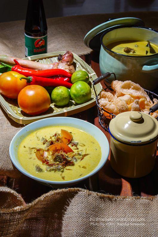 Soto Betawi - Beef Brisket in Coconut Soup