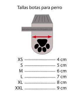 Patrón de botas para perro | Patrones de ropa para perros